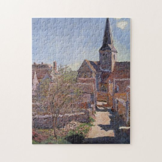 Bennecourt Monet Fine Art Jigsaw Puzzle
