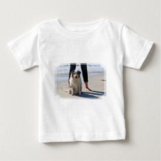 Bennett - Aussie Mini - Rosie - Carmel Beach Baby T-Shirt