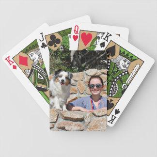 Bennett - Aussie Mini - Rosie - Carmel Beach Bicycle Playing Cards