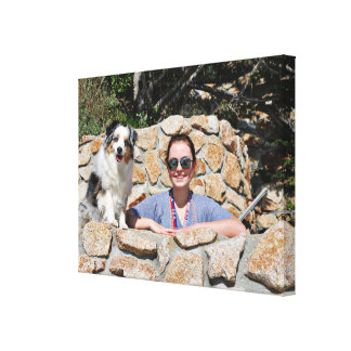 Bennett - Aussie Mini - Rosie - Carmel Beach Canvas Print