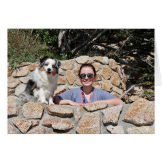 Bennett - Aussie Mini - Rosie - Carmel Beach Card