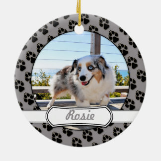 Bennett - Aussie Mini - Rosie - Carmel Beach Ceramic Ornament
