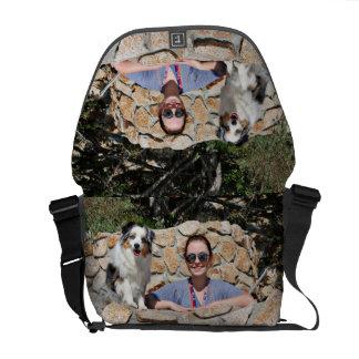 Bennett - Aussie Mini - Rosie - Carmel Beach Courier Bag