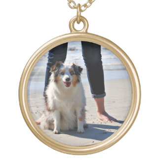 Bennett - Aussie Mini - Rosie - Carmel Beach Gold Plated Necklace