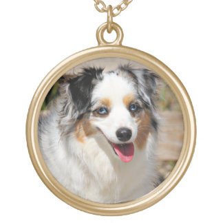 Bennett - Aussie Mini - Rosie - Carmel Beach Gold Plated Necklace