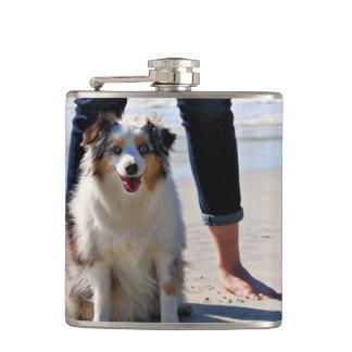 Bennett - Aussie Mini - Rosie - Carmel Beach Hip Flask
