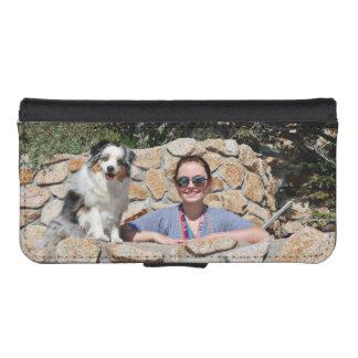 Bennett - Aussie Mini - Rosie - Carmel Beach iPhone SE/5/5s Wallet Case