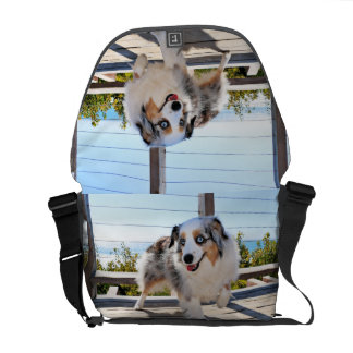 Bennett - Aussie Mini - Rosie - Carmel Beach Messenger Bags