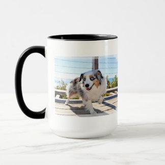 Bennett - Aussie Mini - Rosie - Carmel Beach Mug