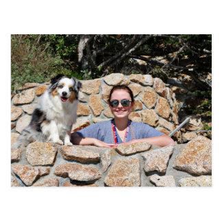 Bennett - Aussie Mini - Rosie - Carmel Beach Postcard