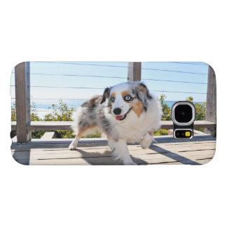 Bennett - Aussie Mini - Rosie - Carmel Beach Samsung Galaxy S6 Cases