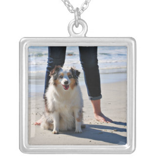 Bennett - Aussie Mini - Rosie - Carmel Beach Silver Plated Necklace