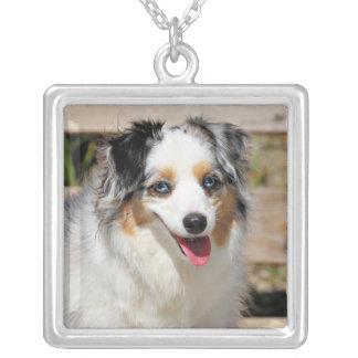 Bennett - Aussie Mini - Rosie - Carmel Beach Silver Plated Necklace