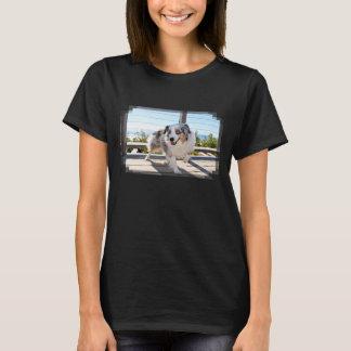 Bennett - Aussie Mini - Rosie - Carmel Beach T-Shirt