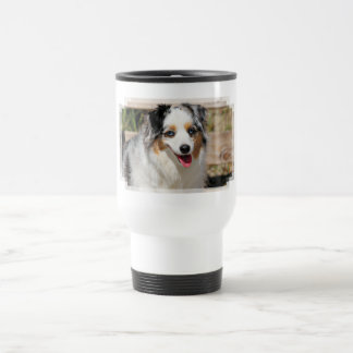 Bennett - Aussie Mini - Rosie - Carmel Beach Travel Mug