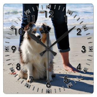 Bennett - Aussie Mini - Rosie - Carmel Beach Wall Clocks