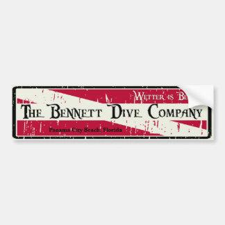 Bennett Dive Company Bumper Sticker
