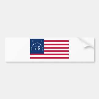 Bennington Flag from American Revolution Bumper Sticker