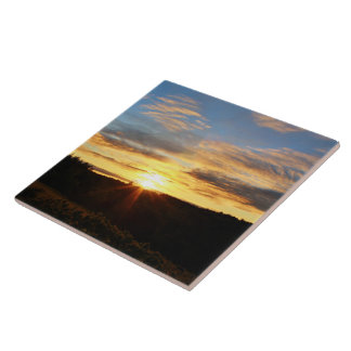 Bennoch Road Sunrise Tile