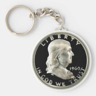 Benny Half Dollar Keychain