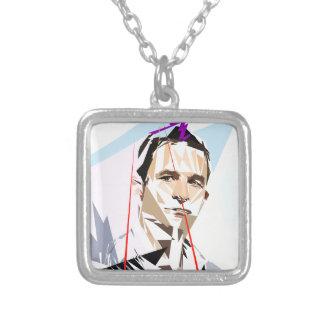 Benoit Hamon Silver Plated Necklace
