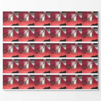 Benson Singing Carols Pet Rat Gift Wrap