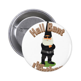 Bent For Leather 2 Inch Round Button
