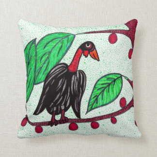 Bentley Buzzard Throw Pillow