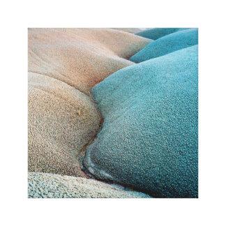Bentonite Hills - Capitol Reef National Park Canvas Print