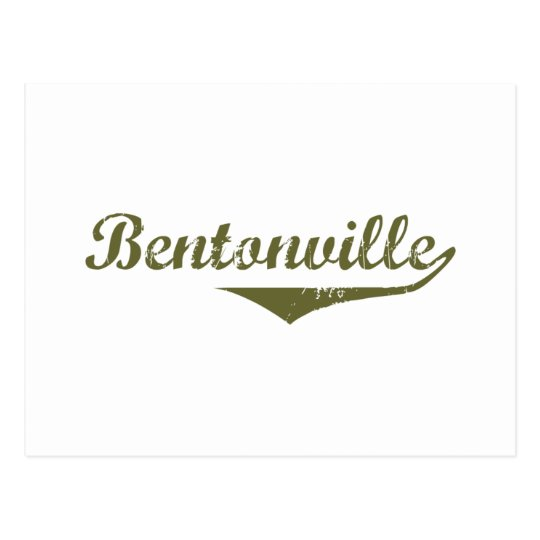 Bentonville Revolution tee shirts Postcard
