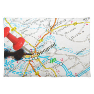 Beograd, Serbia Placemat