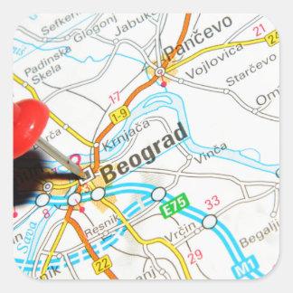 Beograd, Serbia Square Sticker