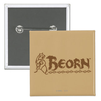 BEORN™ Bear Name Pinback Button