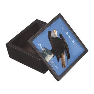 BEOUP Bald Eagle on Utility Pole Gift Box