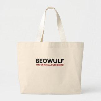 Beowulf the Original Superhero Jumbo Tote Bag