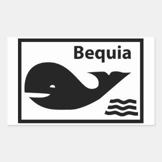 Bequia Flag Sticker