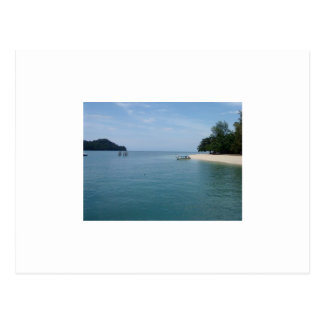 Beras Basah Island, Malaysia Postcard