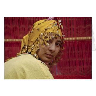 Berber woman card