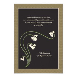 Bereavement Thank You Card