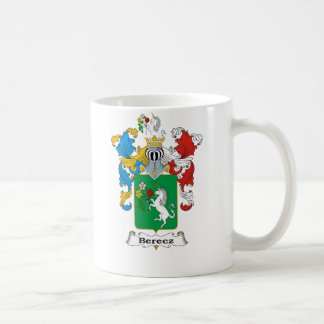 Berecz Family Hungarian Coat of Arms Coffee Mug
