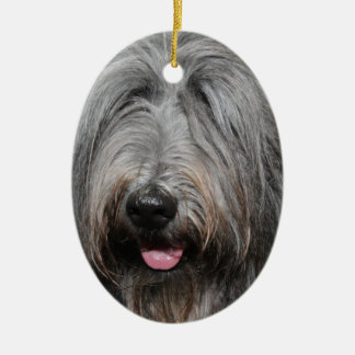 BERGAMASCO DOG ORNAMENT