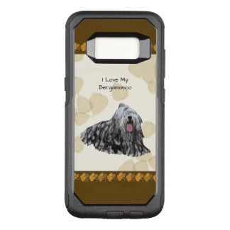 Bergamasco on Tan Leaves OtterBox Commuter Samsung Galaxy S8 Case