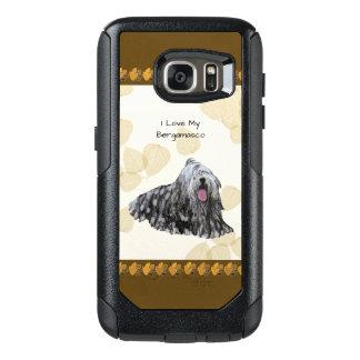 Bergamasco on Tan Leaves OtterBox Samsung Galaxy S7 Case