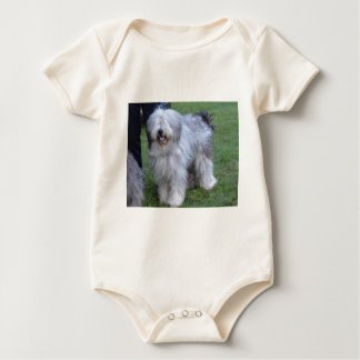 Bergamasco Shepherd Dog Baby Bodysuit