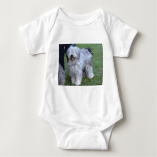 Bergamasco Shepherd Dog Baby Bodysuit