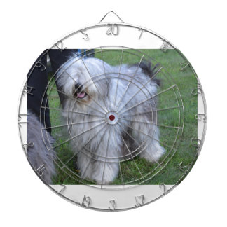 Bergamasco Shepherd Dog Dart Board