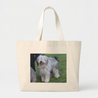 Bergamasco Shepherd Dog Large Tote Bag