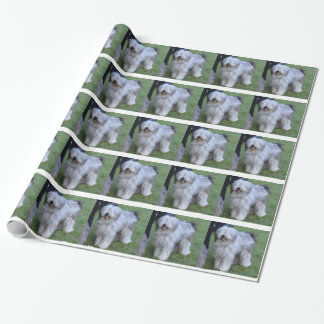 Bergamasco Shepherd Dog Wrapping Paper
