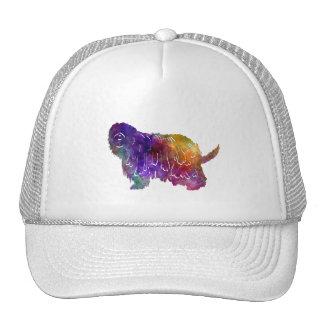 Bergamasco Shepherd in watercolor Trucker Hat