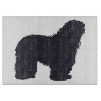 bergamasco_silhouette color cutting board